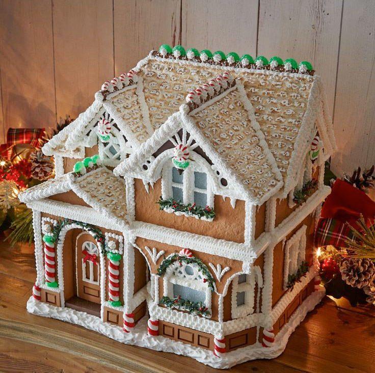 Här får du bästa inspirationen till pepparkakshuset. Gillar du överdekorerade eller mer minimalistiskt estetiska pepparkakshus? Du hittar inspirationen här!