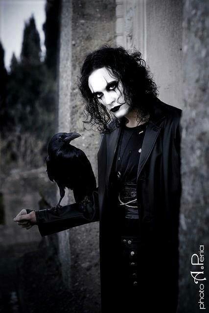 """The Crow""  (1994)  Brandon Lee  01Feb 1965 - 31Mar 1993"