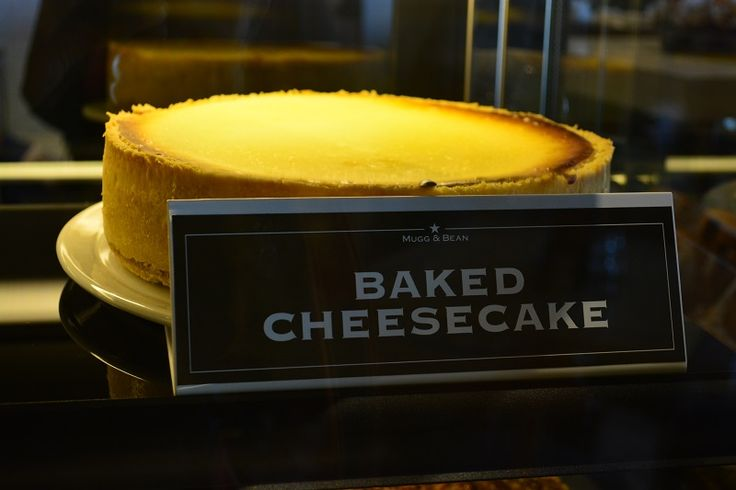The famous Mugg and Bean cheese cake. #food #CheeseCake
