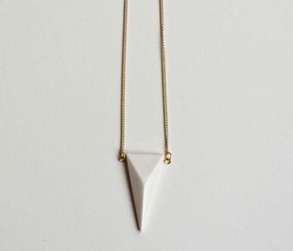 Geometric Bone Pendants by Leah Singh