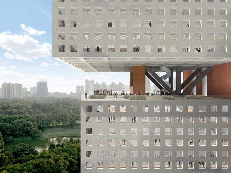 Essence Financial Building by OMA (Image courtesy of OMA) | Bustler