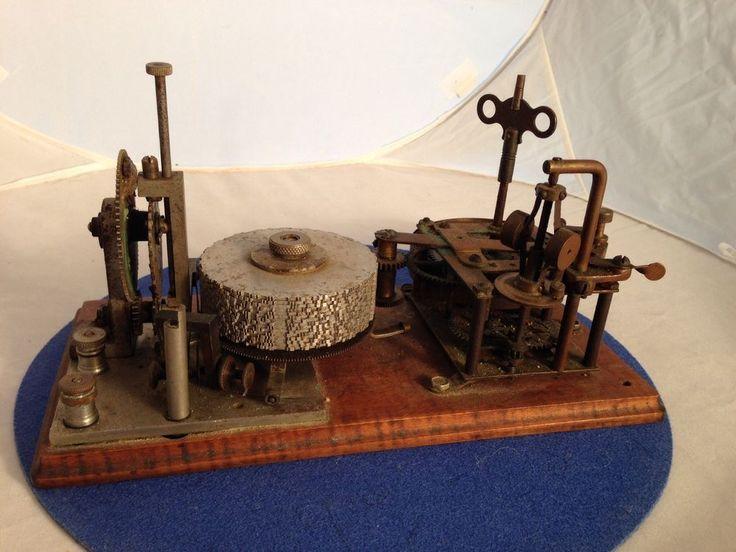 Vintage 15 Disk Omnigraph Morse Code Trainer