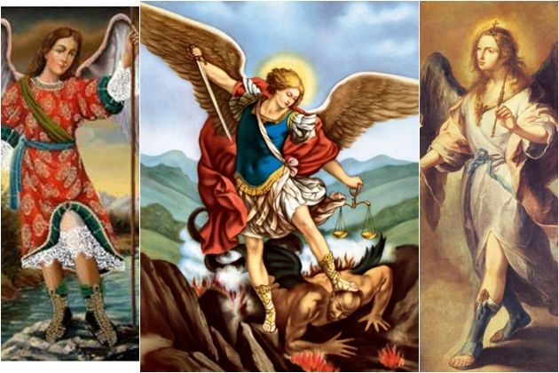 Devotos celebran este lunes el día de los arcángeles de las sagradas escrituras