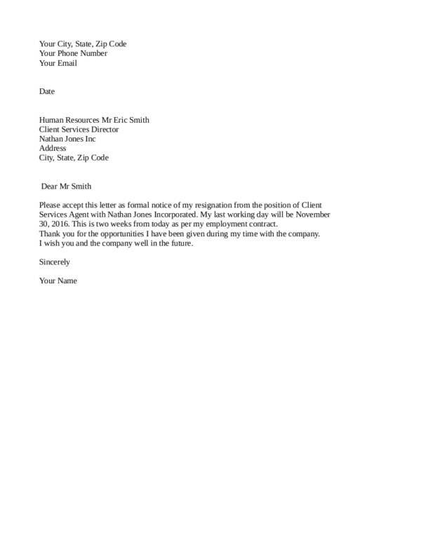 The 25 Best Resignation Letter Ideas On Pinterest