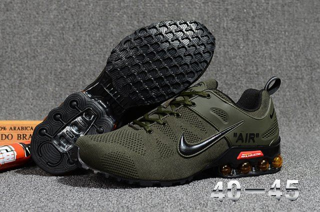 Nike Air VaporMax 2018. 5 Flyknit Men's Running Shoes Army