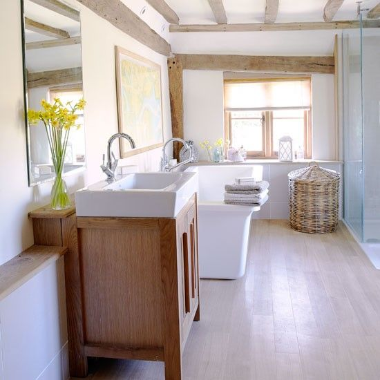 Bathroom   country   House tour   Country Homes & Interiors