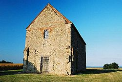 Chapel of St Peter-on-the-Wall, Bradwell-on-sea, Essex.