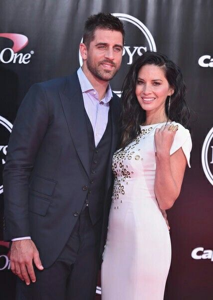 Aaron and Olivia at the ESPYs