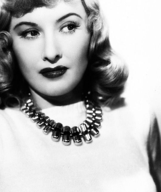Barbara Stanwyck for Double Indemnity (1944).