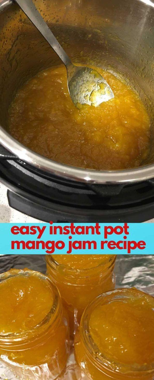 #instant #Jam #Mango #pectin #POT #recipe Instant Pot Mango Jam Recipe Without P…