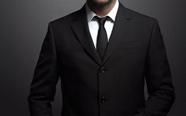Подобрать галстук под черный костюм