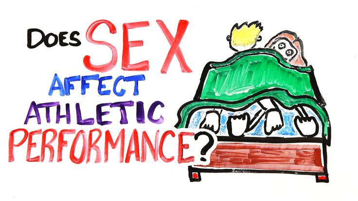 Does Sex Affect Athletic Performance? Should you be 'getting your game on' a night early?