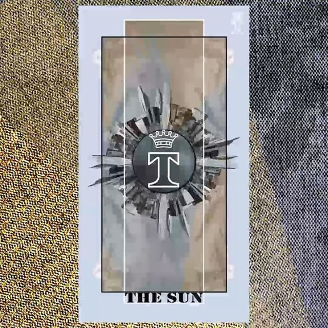 """The Sun"": Light the path of truth.  Follow #TrussardiTarots to discover the TRUSSARDI Men's Fall/Winter 2017-18 presentation on January 16 #TrussardiBrera"