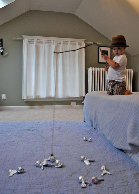 DIY Magnetic Fishing Game for Kids