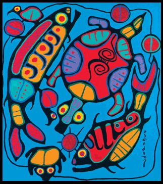 Week Two - Norval Morrisseau and Colour Theory