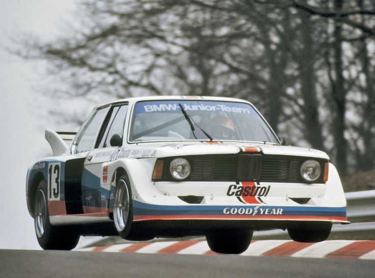 In 1977 BMW established a Junior-Team with the young drivers Eddie Cheever, Marc Surer and Manfred Winkelhock to compete in the German Racing Championship. All of them made it to Formula 1 later. The picture shows Manfred Winkelhock in his BMW 320 Group 5.