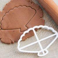 """Cookie cutter """"Fan"""" 14,5 cm"""