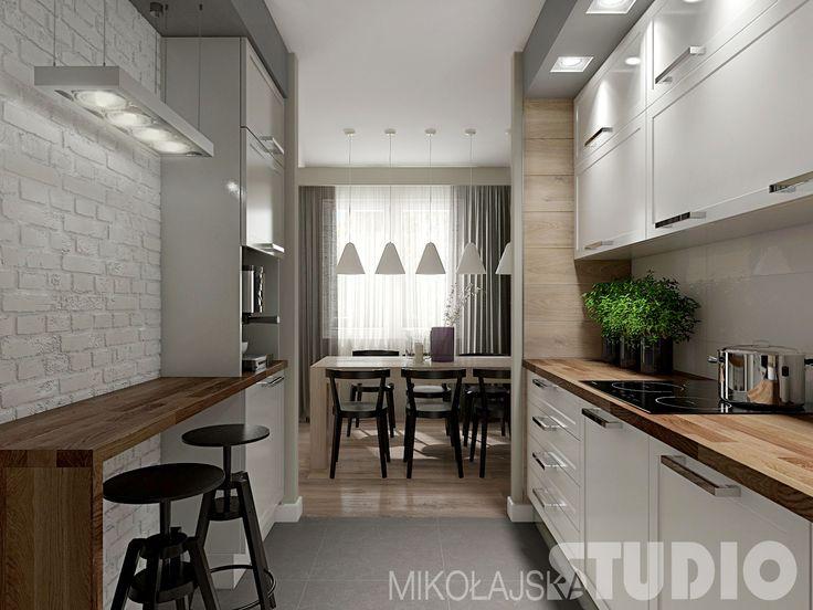 Wzór frontów mebli. Kolorystyka blatu + fronty. Ogólnie cała kuchnia z tego ujęcia jest ładna, ale bez cegły na ścianie :)
