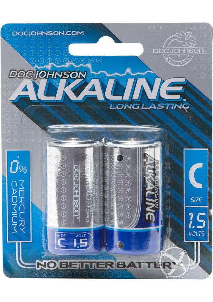 Doc Johnson Alkaline AA Batteries, Pack of 4 - dearlady.us