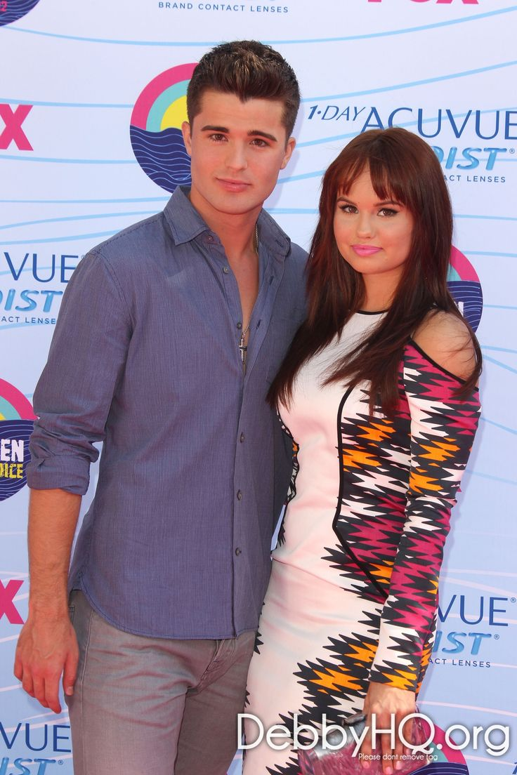 Debby Ryan & Spencer Boldman on the red carpet. To pull the plug on rumors, no, they are not dating.
