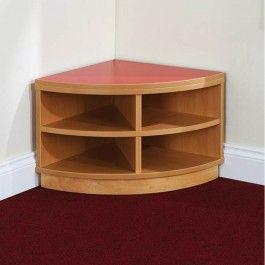 Mountrose Children's Corner Storage Bench Unit