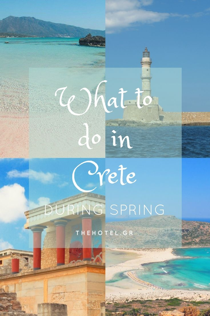 Travel tips for your holidays in Crete during Spring!         #crete #travel #tips #whattodo