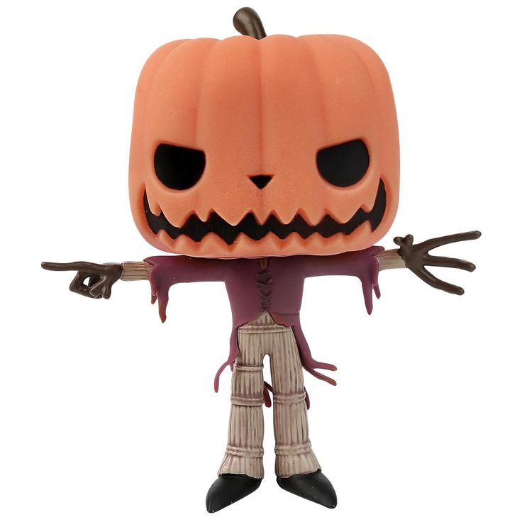Statuetta decorativa GITD Pumpkin King Limited di #TheNightmareBeforeChristmas del brand Funko collezione Pop!. Altezza: 10 cm circa.