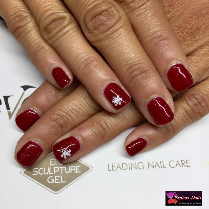 #newcolour just in #moulinrouge with a splash of #snowflake #paphosnails #biosculpturebytheresa #kissonerganails