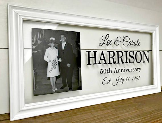 Gift Ideas For 50th Wedding Anniversary For Parents: 25+ Best Anniversary Gifts For Parents Ideas On Pinterest