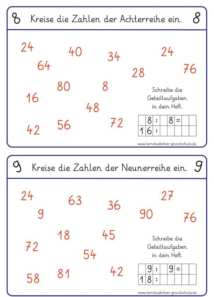 Mathe 3. Klasse Online üben