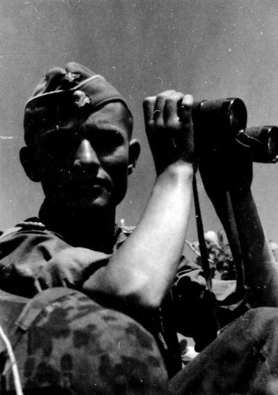 """ Leibstandarte "" soldier - during Operation "" Zitadelle "" July 1943"