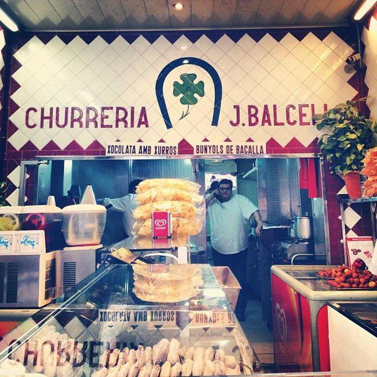 Churrería J. Balcells - Confitería en La Vila de Gràcia