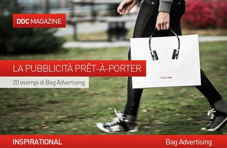 #Marketing non convenzionale: 20 esempi di bag #advertising. http://www.danieladicosmoadv.it/blog/?p=6806