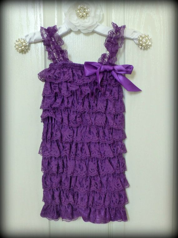 Purple! Etsy listing at https://www.etsy.com/listing/106445249/sale-petti-lace-petti-romper-purple
