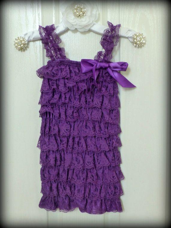 Purple! Etsy listing at https://www.etsy.com/listing/106445249/sale-petti-lace-petti-romper-purple