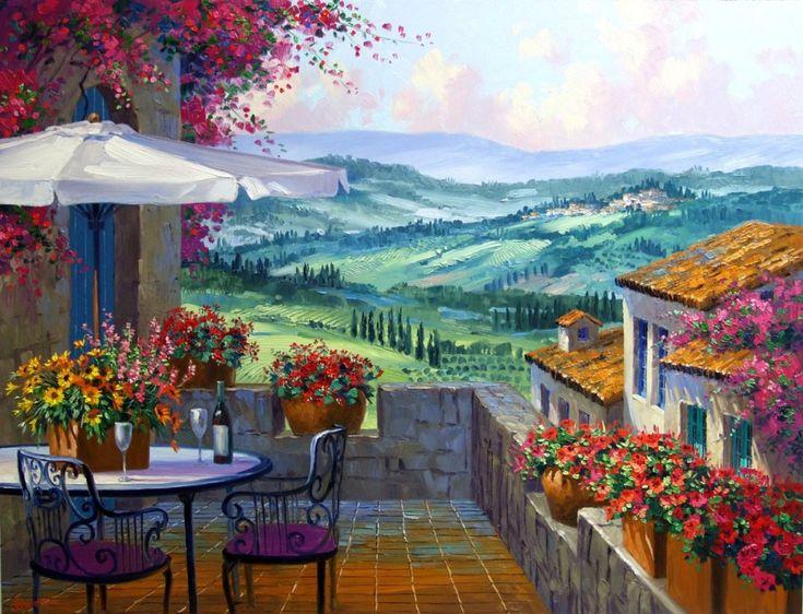 67 best mediterranean art images on pinterest paisajes
