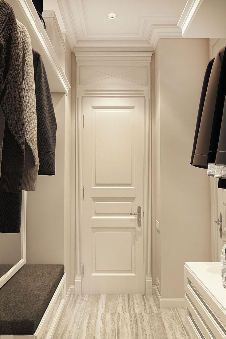 Дизайн апартаментов ЖК Balchug Residence. Ванная 2. Вид 1 #аркси #arxy #дизайнинтерьера #элитныйинтерьер #дизайнквартиры #гардеробная