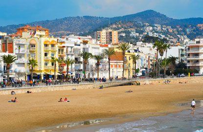 Sitges, Spain - artsy seaside town