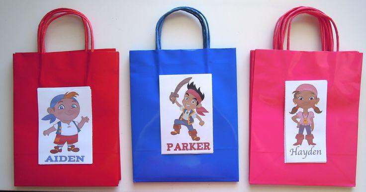 Jake & Neverland Pirates (DIY goodie bags)