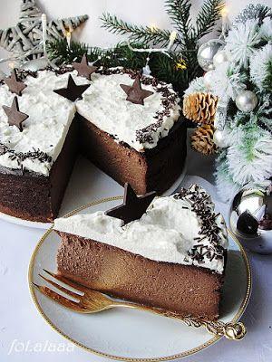 W naszym bożonarodzeniowym konkursie wygrała: Ala piecze i gotuje: Sernik czekoladowo korzenny #mojpieknystol