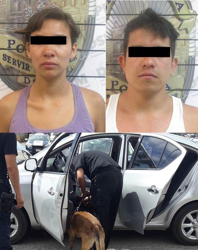 Arrestan a pareja acusada de distribuir enervantes en la Revolución; Dijeron trabajar para UBER | El Puntero
