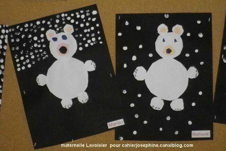 ijsbeer maken met de jongste kleuters