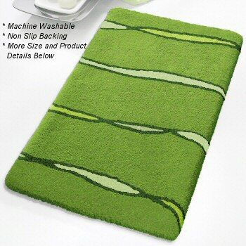 Modern Unique Bath Rug. What An Inexpensive Way To Transform Your Bathroom.  Pile Height