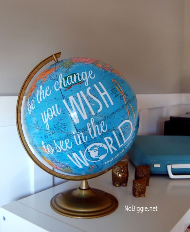 creative globe ideas