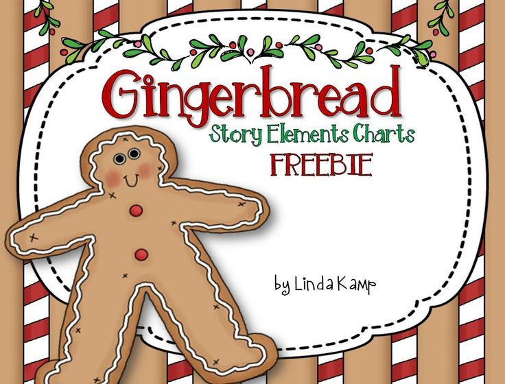 FREE Gingerbread Comparing Story Elements booklet. Includes color (for projecting) and black & white student pages with a fun cover for comparing characters, setting, problems & solutions for any of your favorite versions of The Gingerbread Man!
