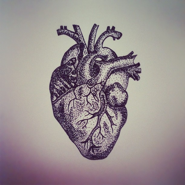 Anatomical heart. | Tattoos. | Pinterest | The o'jays ...