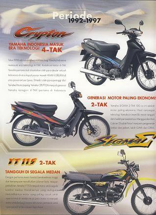 Yamaha Crypton, YT 115