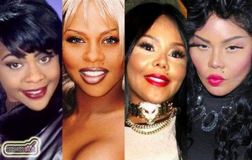 lil kim before and after | Lil Kim Plastic Surgery Before After Lil Kim Overdoes Plastic Surgery ...