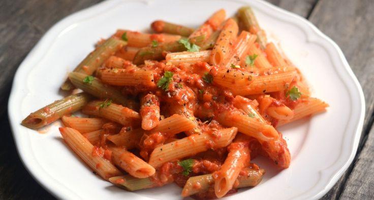 Sült paprikás tészta recept