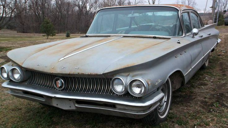 Mightier Than The Sabre: 1960 Buick Lesabre - http://barnfinds.com/mightier-than-the-sabre-1960-buick-lesabre/